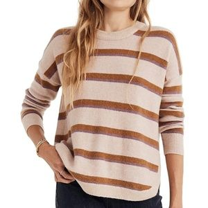 Madewell westlake striped pullover EUC size XS